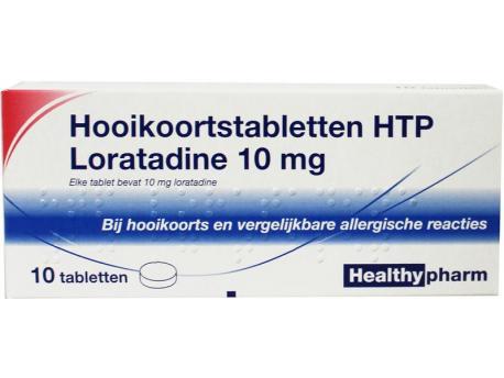 Healthypharm Loratadine hay fever tablet 10tab