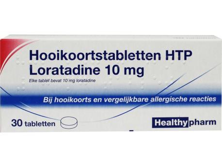 Healthypharm Loratadine hooikoorts tablet 30tab