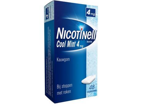 Nicotinell Kauwgom 4mg Mint 48stuks