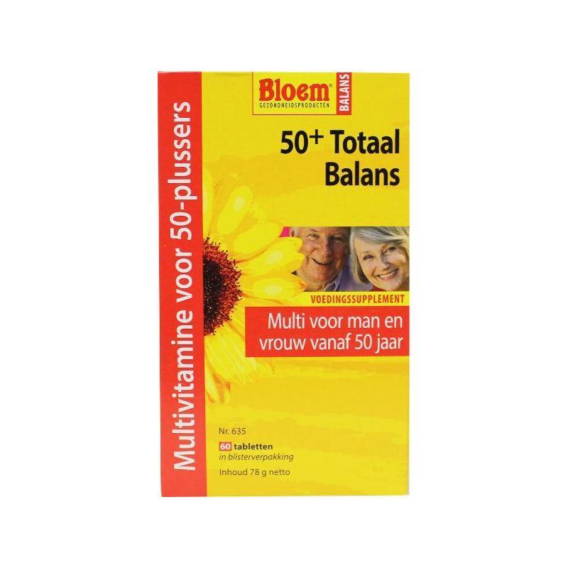 Afbeelding van Bloem 50+ Totaal balans 60tab