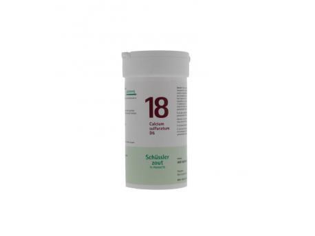 Pfluger Calcium sulfuratum 18 D6 Schussler 400tab