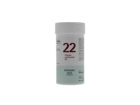 Pfluger Calcium carbonicum 22 D6 Schussler 400tab