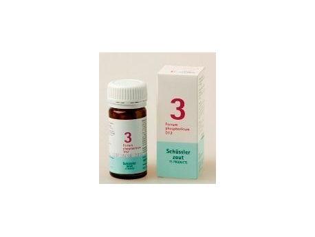 Pfluger Ferrum phosphoricum 3 D12 Schussler 100tab