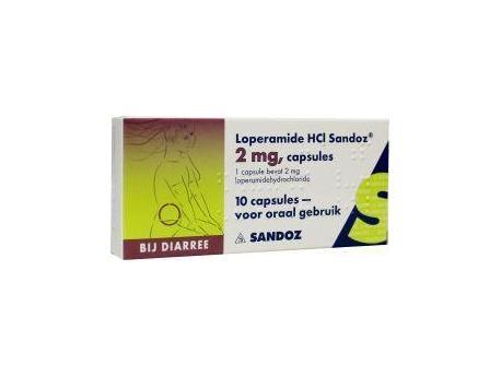 Sandoz Loperamide 2 mg 10cap