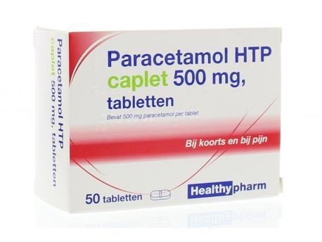 Healthypharm Paracetamol caplet 500 50st