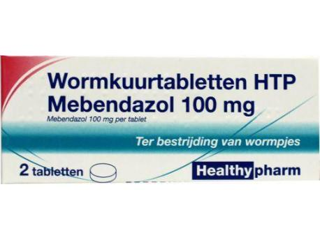 Healthypharm Mebendazol / deworming treatment 2tab