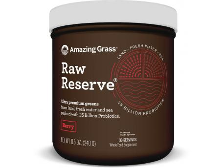Amazing Grass RAW Reserve berry green superfood 240g