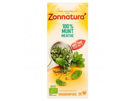 Zonnatura Munt thee bio 20st