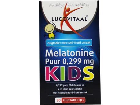 Lucovitaal Melatonine kids puur 0.299 30tab