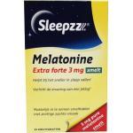 Sleepzz Melatonin extra forte 3 mg melt tablet 25tab