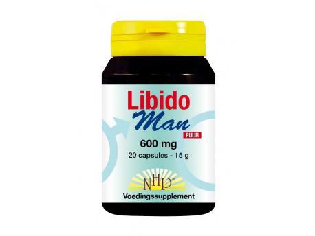 NHP Libido man 600 mg pure 20cap