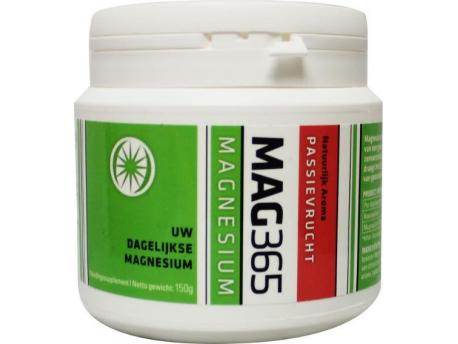 Mag365 Magnesium powder - passion fruit & citric acid 150g