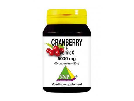 SNP Cranberry vitamine C 500 mg 60cap