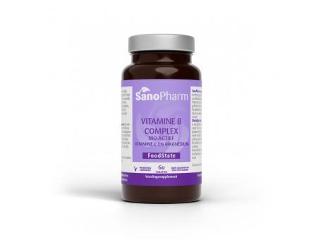 Sanopharm Vitamine B complex & C & magnesium 60tab