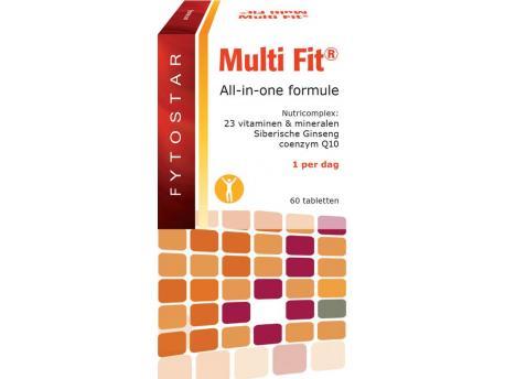 Fytostar Multi-fit multi-vitamin 60tab