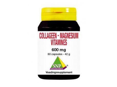 SNP Collageen magnesium vitamines 60cap
