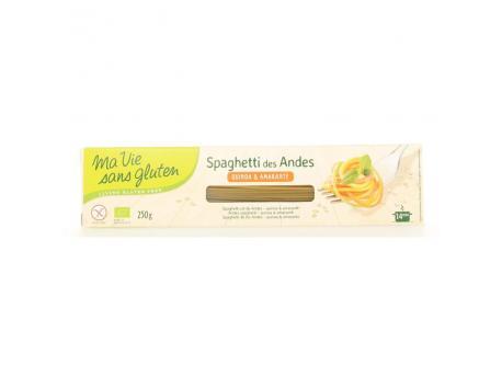 Ma Vie Sans Tricolor spaghetti bio - gluten free 250g