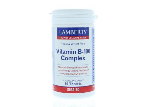 Lamberts Vitamin B100 complex 60tab