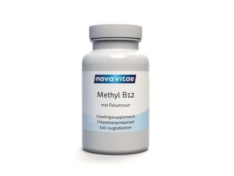 Nova Vitae Methyl B12 Foliumzuur 100kt Nova vitae kopen