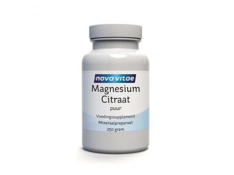 Nova Vitae Magnesium Citraat Poeder 250g Nova vitae kopen