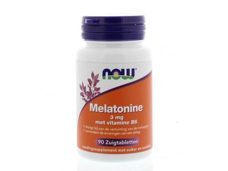 NOW Melatonine 3 mg 90zt