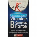 Lucovitaal Vitamine B complex forte 60tab