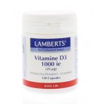Lamberts Vitamin D 1000 IU 120cap