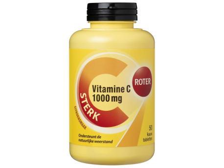 Roter Vitamine C 1000 mg 50st