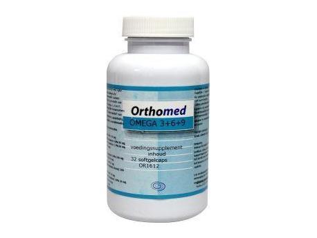 Orthomed Omega 3 + 6 formule 32sft