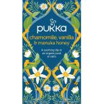 Pukka Chamomile vanille/manuka honing 20st