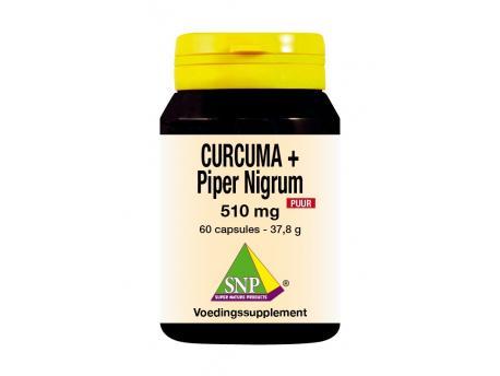 SNP Curcuma & Piper nigrum 510 mg pure 60cap