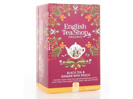 English Tea Shop Ginger peach 20bt