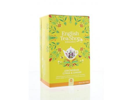 English Tea Shop Lemongrass ginger citrus 20bt