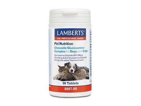 Lamberts Glucosamine Dieren 90tab