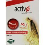 Activo Activ power ginseng 100cap