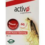 Activo Activ power ginseng 40cap