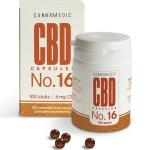 Cannamedic CBD Capsules No 16 6 mg 100cap