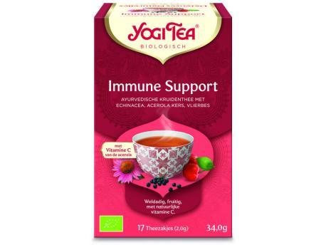Yogi Tea immune support @