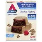 Atkins Chocolate raspberry 5x30g