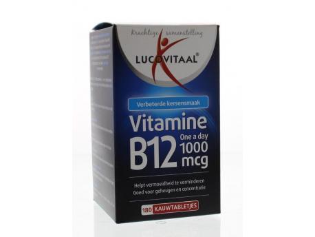 Lucovitaal Vitamin B12 1000 mcg 180tab