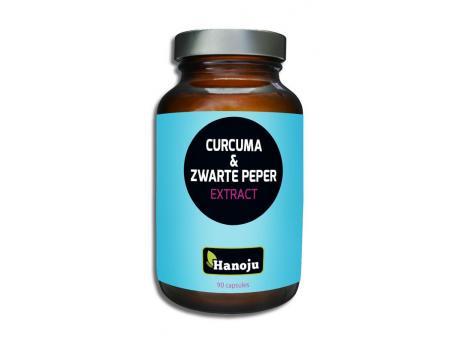 Hanoju Turmeric Powder & black pepper extract 90cap