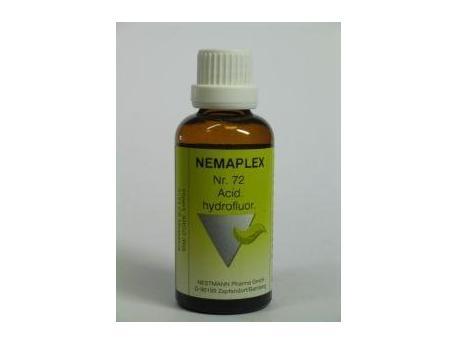 Nestmann Acidum hydrofluor 72 Nemaplex 50ml