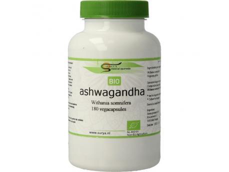 Surya Bio ashwagandha 180cap