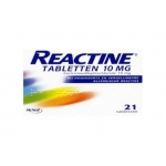 Reactine Anti histamine 10 mg 21tab