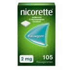 Nicorette Kauwgom 2 mg classic 105st