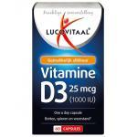 Lucovitaal Vitamine D3 25 mcg 60cap