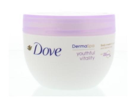 Derma spa body cream youthful vitality