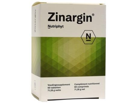 Nutriphyt Zinargin 60tab