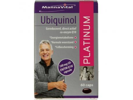 Mannavital Ubiquinol platinum 60cap