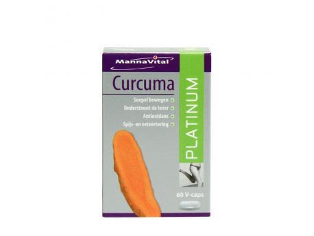 Mannavital Curcuma platinum 60vc